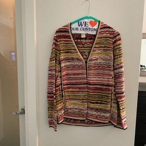 Missoni Wool Silk Cardigan